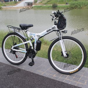 "Foldable Electric Bike E Bicycle 26"" ebike 1000W 48V 20AH Battery Electric Mountain Bicycle with 21 Speeds Mens Mountain Bike"