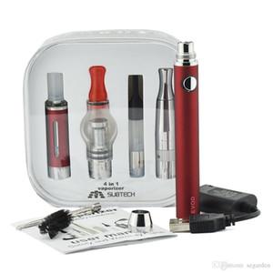 Newest 4 in 1 evod battery Electonic cigarette Multi vape Vaporizer Starter Kit Vape Pen mt3 dry herb tank 0268017-1