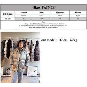Toppies Winter Oversized Coat Women Puffer Jacket Thicker Warm Padded Clothes Loose Outwear 201109