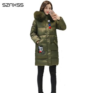 new winter coat women Slim fashion patch pocket cotton Jacket high quality casual thick parka ropa mujer invierno 201014