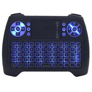 T16 мини беспроводная клавиатура с подсветкой с подсветкой 2.4G Air Mouse Remote Controlers Лучшая игра Качество клавиатуры Оптовая серия
