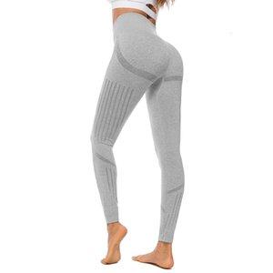 Women Yoga Pants Seamless Leggings Peach High Waist Push Up Knitting Sport Leggings Woman Yoga Pants Sports Running Sportswear