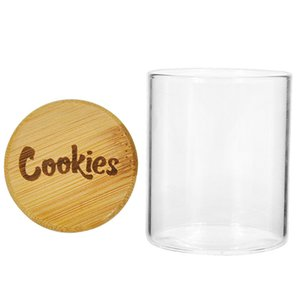 Tabakdose Plätzchen Sealed Lagertanks Vakuum Feuchtigkeitsbeständig Holz Moisturizing Behälter Glas Transparent Feuchtigkeitsbeständig Feuchtigkeitsbeständig Behälter