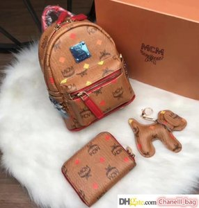 ladies high-grade high-quality leather fashion casual shoulder satchel luxury boutique bag wallet backpack