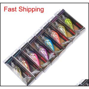 Новый ABS Plastic Wobbler Laser Bass Lure 11CM 12.5G Live Target LifeLike Fish Swimbaits Пресноводные каркасы с Reta Advc2007