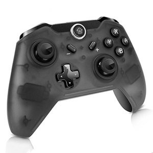 Newest Bluetooth Wireless Game Controller Gamepad Joypad LEDs Remote Telescopic Control Joystick for Nintendo Black Switch Console DHL Free