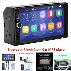 """7"""" Bluetooth Car Stereo Radio 2DIN HD MP5 Touch Screen IOS Android Mirror Link"""