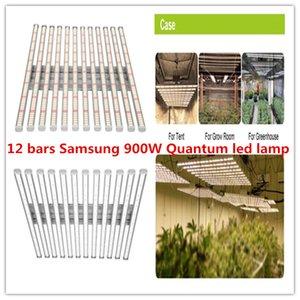 جديد 900W 12bars العنكبوت 2835 + 660nm كامل الطيف السامي PPFD سامسونج LED الكم تنمو مجلس ضوء على النباتات الدفيئة