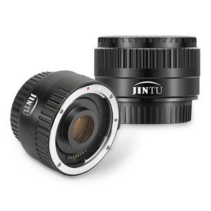 JINTU التركيز التلقائي C-AF 2X ومح عدسة لكانون EOS EF عدسة 1300D 200D 70D 60D 700D 600D 100D T6i T6s T4i T5i DSLR كاميرا