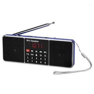 Mini Portable Radio Handheld Digital FM USB TF MP3 Player Speaker Rechargeable Stereo Loudspeake1