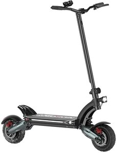 NANROBOT D6 + Strong Power Electric Scooter, 2000w Motor, Maximum Speed 40MPH, 50Miles Range of Riding, Easy to fold