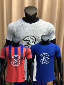Player versión 2020 2021 WERNER fútbol jerseys Jorginho Abraham BARKLEY KANTE T.SILVA GIROUD HAVERTZ PULISIC ZIYECH MONTAJE camiseta de fútbol