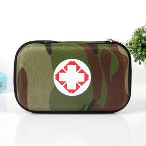 Çok Katmanlı Cepler Taşınabilir Açık İlk Yardım Seti Su Geçirmez EVA Tıbbi Çanta Acil Tıbbi Arıtma Seyahat Survival Mediv
