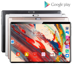 New 10 inch Tablet Pc Google Play Android 9.0 Octa Core 4G Phone Call CE Brand Tablets WiFi Bluetooth GPS Android 10.1 inch Tab