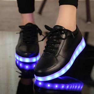Size 27-41 Children Glowing Sneakers with Light Shoes Luminous Sneakers for Boys Girls Krasovki with Backlight Kid Luminous sole LJ201203