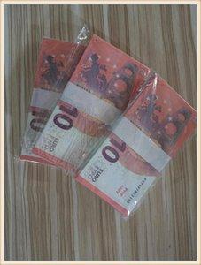Billet Realistic Children's Dinheiro 10 Adult Bar Faux Prop Toins Atacado Jogo Game Euro Support Special Adereços Mais 09 bciir