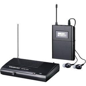 Commercio all'ingrosso - nuovo TAKSTAR WPM200 / WPM200 in-ear monitor sistema senza fili Fase professionale 1 ricevitore 1 trasmettitore 1 auricolare 201114
