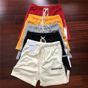 2021 Новая сетка Essentials Boxy Fog Hiphop Men Casual Shorts America High Streetwear Одежда BP70