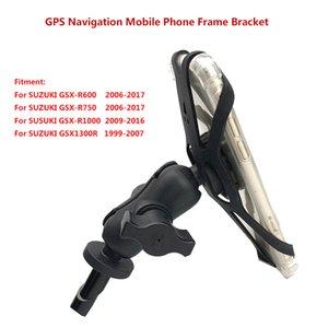 SUZUKI For GSX1300R HAYABUSA GSXR 1000 , GSX-R 600 750 Motorcycle Accessories GPS Navigation Frame Mobile Phone Mount Bracket