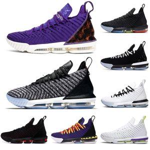 2020 NUEVO LEBRON \ RJAMES \ RLBJ 16 16S Juntas Hombres Sport Shoes Martin Fresh Bred Deportes Sneakers Mens Transters Tamaño 7-12