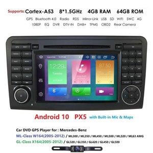 IPS Android 10 4G 64G CAR DVD player For CLASS ML W164 X164 ML350 ML300 GL500 ML320 ML280 GL350 GL450 GPS radio1