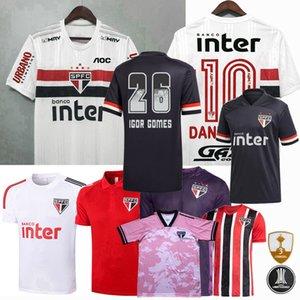 2020 2021 ساو باولو ساو باولو لكرة القدم الفانيلة PATO PABLO داني ألفيس 20 21 تدريب رجال كرة القدم النسائية والاطفال قميص 3XL