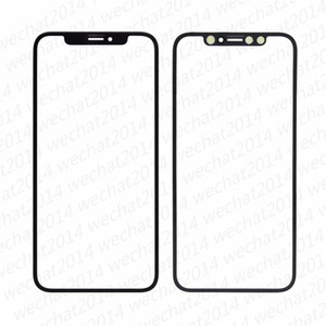 20PCS OEM Front Outer Touch Screen Glass Lens Replacement for iPhone X 5.8inch free DHL