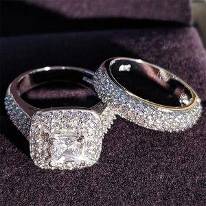MOONSO TRENDY LUXEY ANNUELLE DE MARIAGE DE MARIAGE DE MARIAGE STERLING STERLING POUR LES FILLES DE MIILLE ET FEMMES LIBRES LOIT Couple Paire Joaillerie T200116