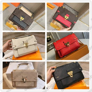 Vavin BB PM Leather Womens حقائب الكتف سلسلة معدنية حقيبة يد Vavin Woc M44553 M44550