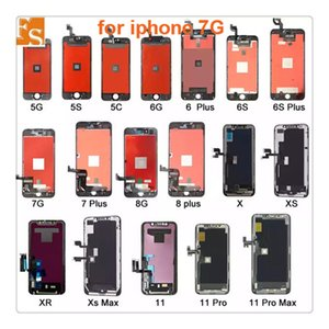 High Quality LCD Display Touch Screen Digitizer Assembly Replacement Parts for iPhone 7 7 Plus free DHL