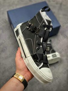 Технический холст Джинсовая пряжка B23 Высокая верхняя вышивка кроссовки B24 в косых кроссовки мужские тренеры наклонные туфли