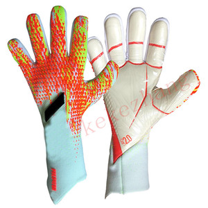 Professional Adult & Children Goalkeeper Gloves no Finger Protection Thicken Latex Soccer Football Goalie Gloves