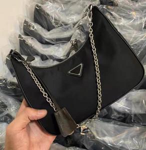 2020 nuevos cadáveres cruzadas bolsas de mensajero 2 PC con la caja de hombro Cruz-Cuerpo del bolso de la cremallera Señora de la cadena pecho bolsas del saco