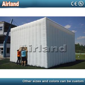 Personalizado branco Oxford pano inflável tenda quadrado / Tent Cube inflável para o partido Evento Exposição e Advetisement