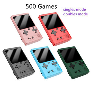 New 500 IN 1 Retro Handheld Game Portable Pocket Game Console Mini Handheld Player for Kids Gift