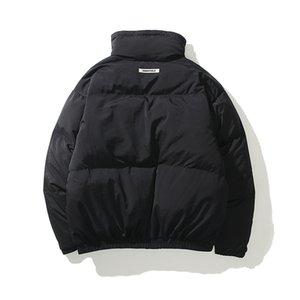 Kadın Kadife Ceket Pamuk Yastıklı Casl Orta SLE, Essential Contrast Renkli Erkek Bayan Fasion Fermuar Mont M l XL Oodalı # 194111100000