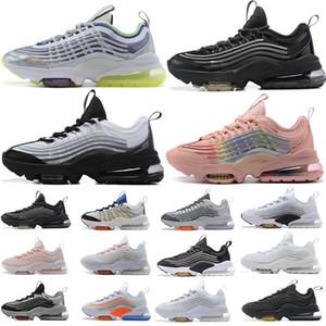 Top Calidad 2020 NUEVO ZM950 950 Zapatillas de deporte Traineradores de cojines Hombres Mujeres Running Zapatillas Colorido Colorido Lobo Negro Gris Corredor Atlético 36-45
