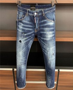 Dsquared2 DSquaredDSQ2D2SS20 neue Ankunfts-hochwertige D2 Designer Männer Denim cooler Typ Jeans Stickerei Hosen Fashion Holes Hosen Es rr