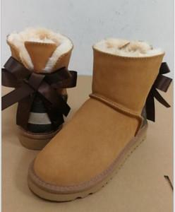 Stivaletti pelle Stile Fiore Lady Designer Donna Bambino Bambino di modo di inverno Snow Boots Top firmato congiuntamente Scarpe Boot Donna Bambino