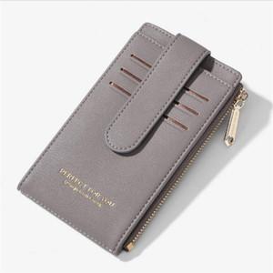 HBP PU long purse designer wallet lady multicolor purses Card holder women classic pocket hp6913-7