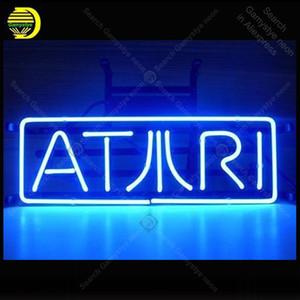 Éclairage au néon signes salle ATARI jeu Neon ampoules signe affichage restaurant lampe néon LOGO C Artesanat Letrero Néons Lumine enseigne