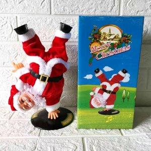 novo elétrica h Toy estande dolldoll street dance boneca Papai Noel criativo com música brinquedos infantis e presentes PhTMs