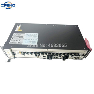 Free shipping by DHL HUAWEI OLT MA5608T 10G GPON With 1*2*MCUD1*MPWD MPWC AC And DC Power Board, 1*GPBD GPFD 8 16 Ports C+