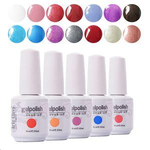 High Quality Cosmetic Arte Clavo Any 5 Colors Cosmetic Nail Polish Nail Gel UV Lamp Set Of Gel Polish