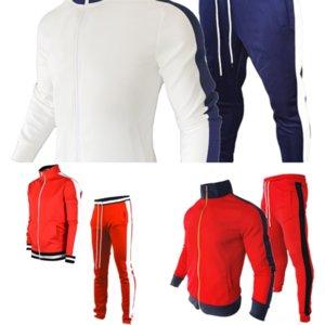 MV0F2 Pullover Hommes Streetwear Retro Flame Motif Mode Capuchon de la hanche Couleur Correspondance Sweater Man Ho-Cou Sweater Spandex Automne Hommes Slim Slim
