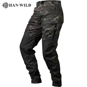 Men Outdoor Airsoft Tactical Pants Hunting Pants Military Cloth Army Camouflage Cargo Pants Knee Reinforced Airsoft Durable 201211