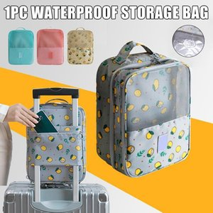 New Style Travel Shoe Bag Waterproof Shoes Storage Pouch with Luggage Sleeve Holds 3 Pair of Shoes1