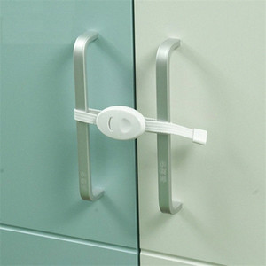 2Pcs set Baby Safety Furniture Locks Kids Protection Cupboard Cabinet Fridge Door Lock dBZw#