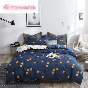 Glowworm Home Textile Pink Flamingo Love Bedging Sets Girls Womish Teen Linen 3 / 4шт одеяло одеяло Крышка наволочки кроватью