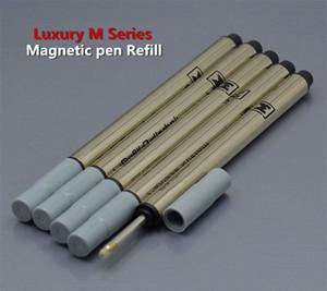 Heißer Verkauf - 5 stücke Hohe Qualität Monte Magnete Stift Refill Black Roller Stift Nachfüllung Schulschreiben Spezielle Schreibwaren Zubehör Tinte